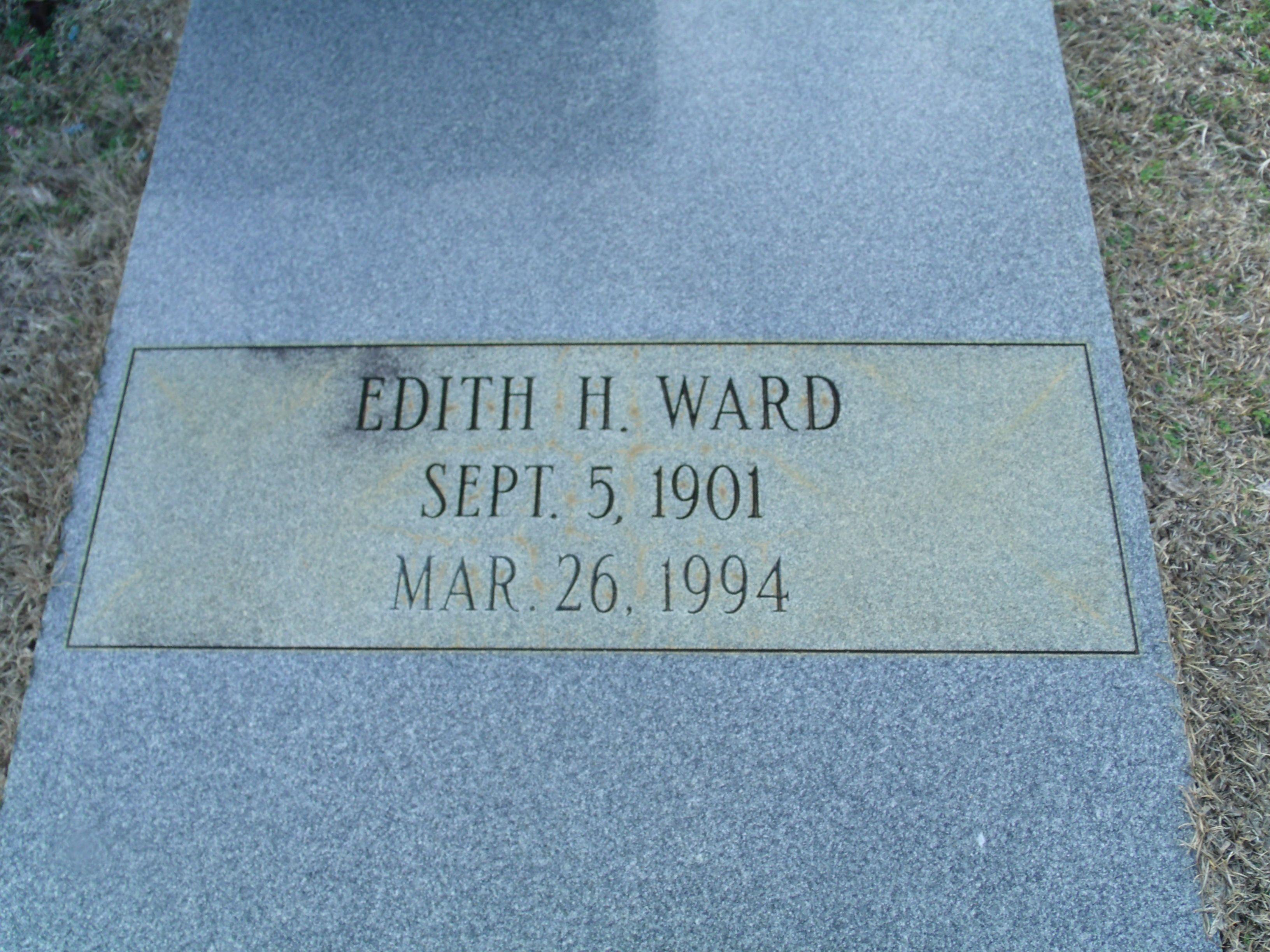 Edith H Ward (1901 - 1994) - Find A Grave Photos