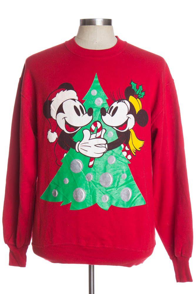 red ugly christmas sweatshirt 37702