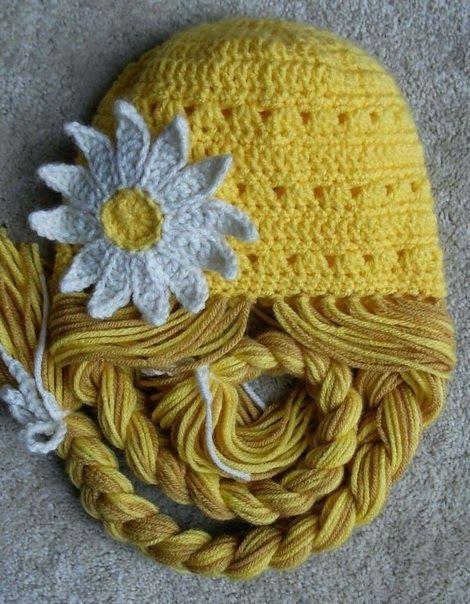 touca crochet com trança - Pesquisa Google  118ef13da55