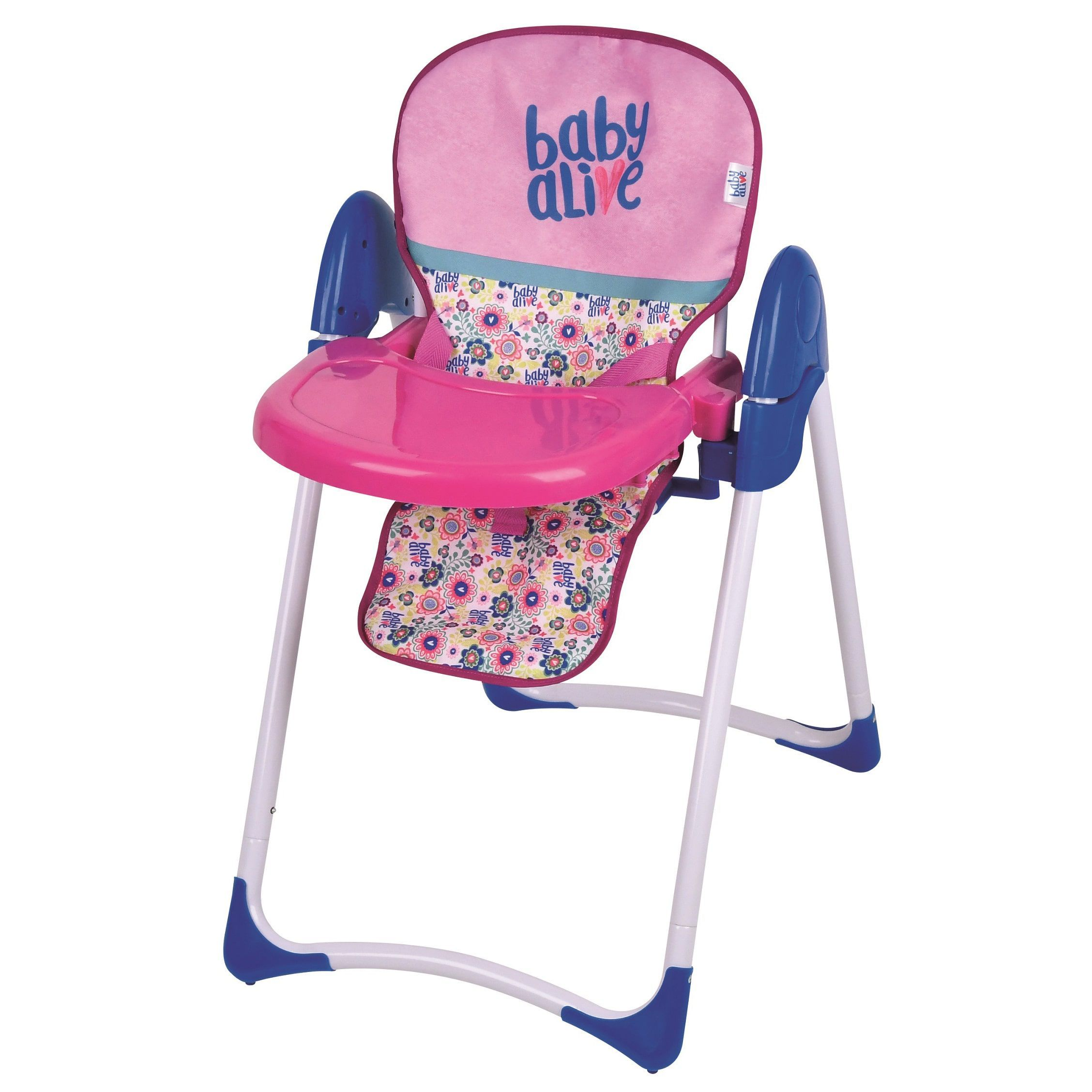 Elmo folding chair - Hauck Hasbro Baby Alive Doll Deluxe High Chair