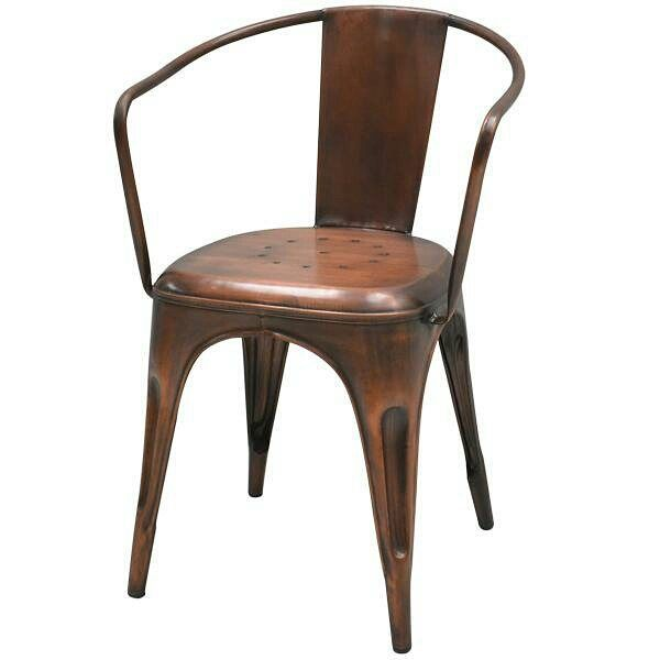 Francais Arm Chair II in antique copper finish - coming soon on Home ...
