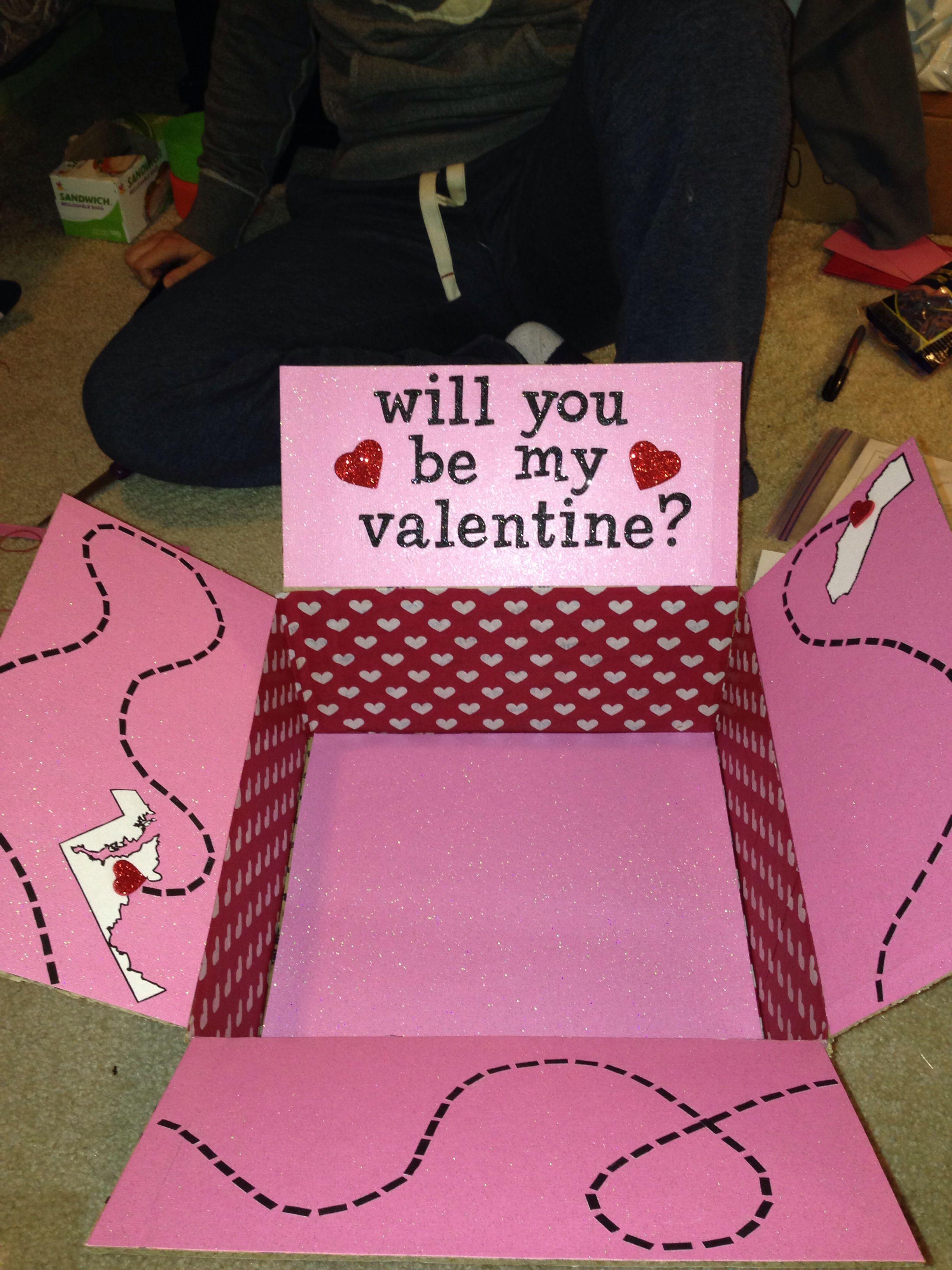 Long Distance Valentine Love Valentines Day Care Package Long Distance Valentines Diy Gifts