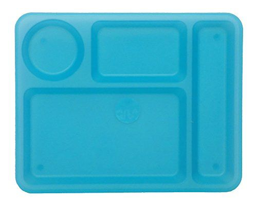 Retro Divided Cafeteria-Style Reusable Hard Plastic BPA-Free Dinner Tray Plates in Choice  sc 1 st  Pinterest & Retro Divided Cafeteria-Style Reusable Hard Plastic BPA-Free Dinner ...