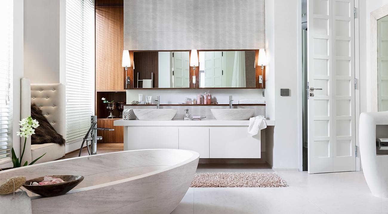 Koupelna na úrovni | Nábytek a doplňky vybrané stylistkami Westwing