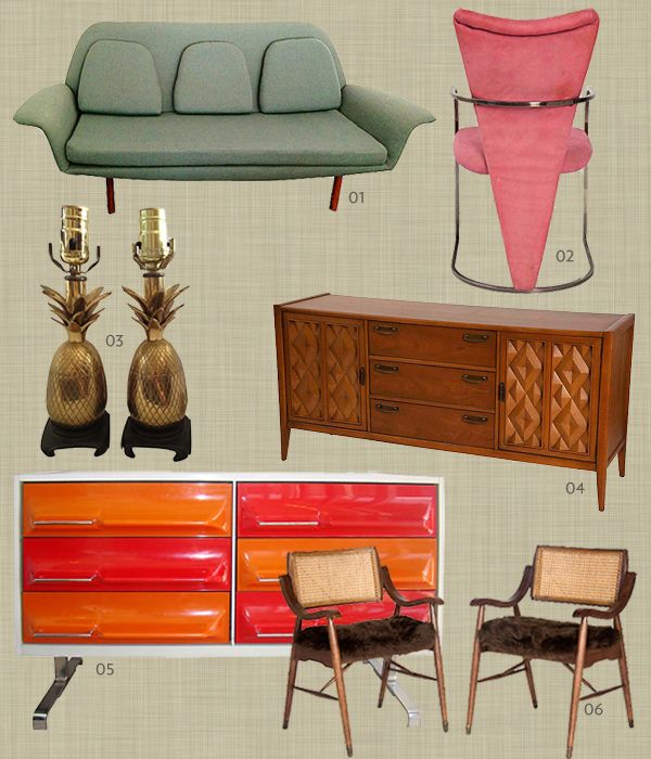 Vintage palm springs interior design palms springs style - Palm springs interior design style ...