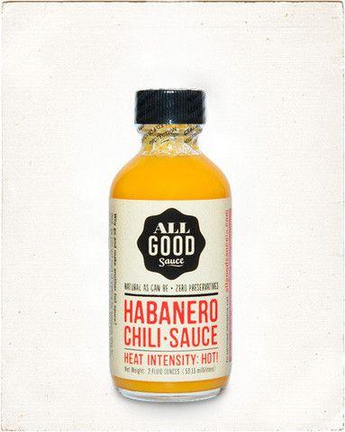 Hot sauce habanero