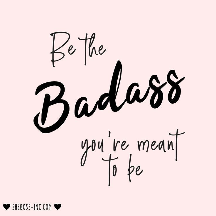 An inspirational quote for boss women. Define confidence and boss up with our ba…