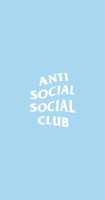Anti Social Social Club Phone Wallpaper Hd 4096 2160 Free Wallpaper Download Free Wallpaper Baby Blue Aesthetic Blue Aesthetic Pastel Blue Wallpaper Iphone