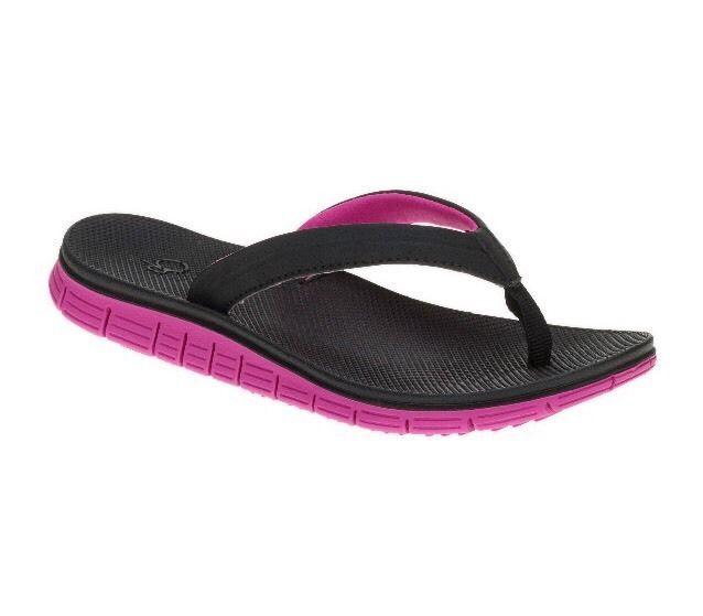 fcbd477d3 Ocean Pacific Girls Beach Sport Thong Sandals Size Small 11-12  fashion   clothing