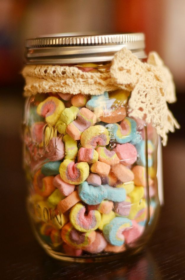 Step 4 Put in jar and give to someone you want to love you forever