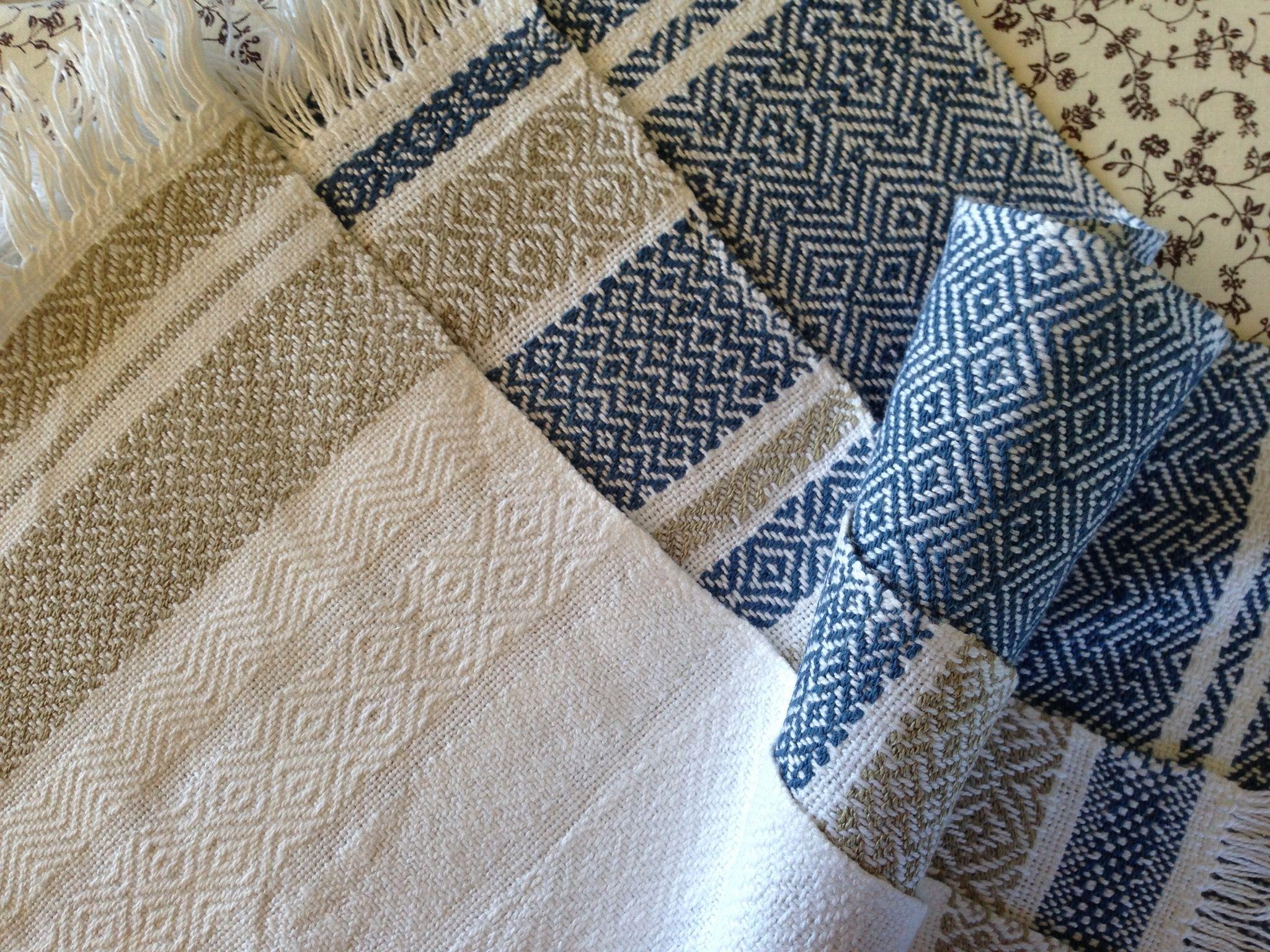 handwoven tea towels - Google Search