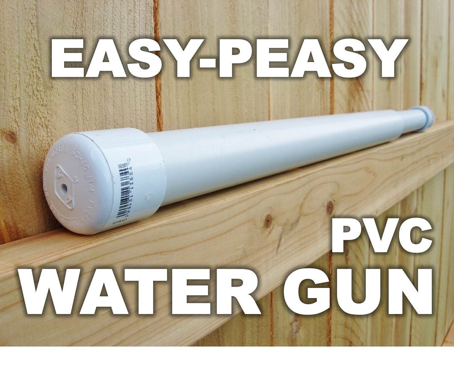 Easy peasy pvc water gun guns water and pvc projects there are a handful of do it yourself pvc water guns on the internet solutioingenieria Choice Image