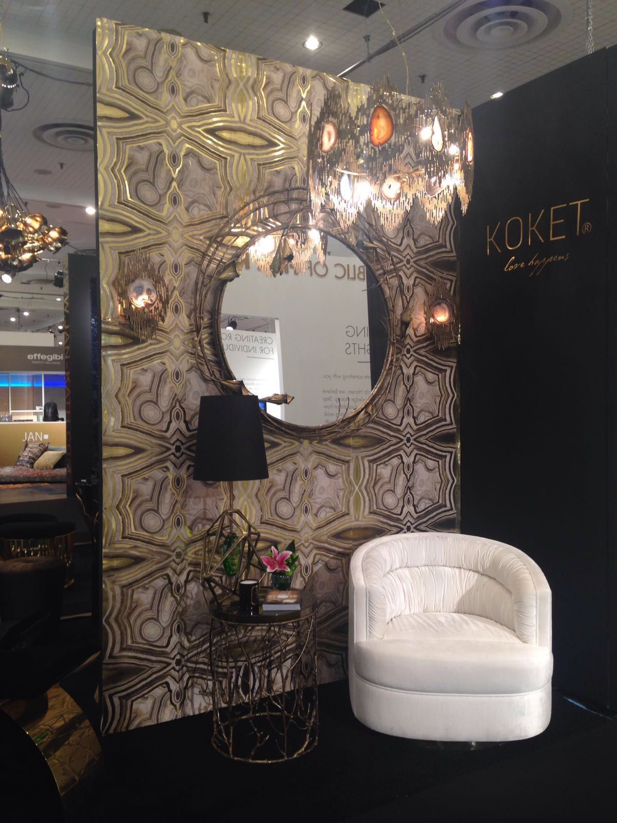 2015 Luxury Living Room Showcase Design 0062 Antique: KOKET Returns To ICFF With A Desirable Collection Of
