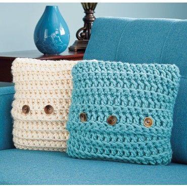 quick crochet pillow cover crochet
