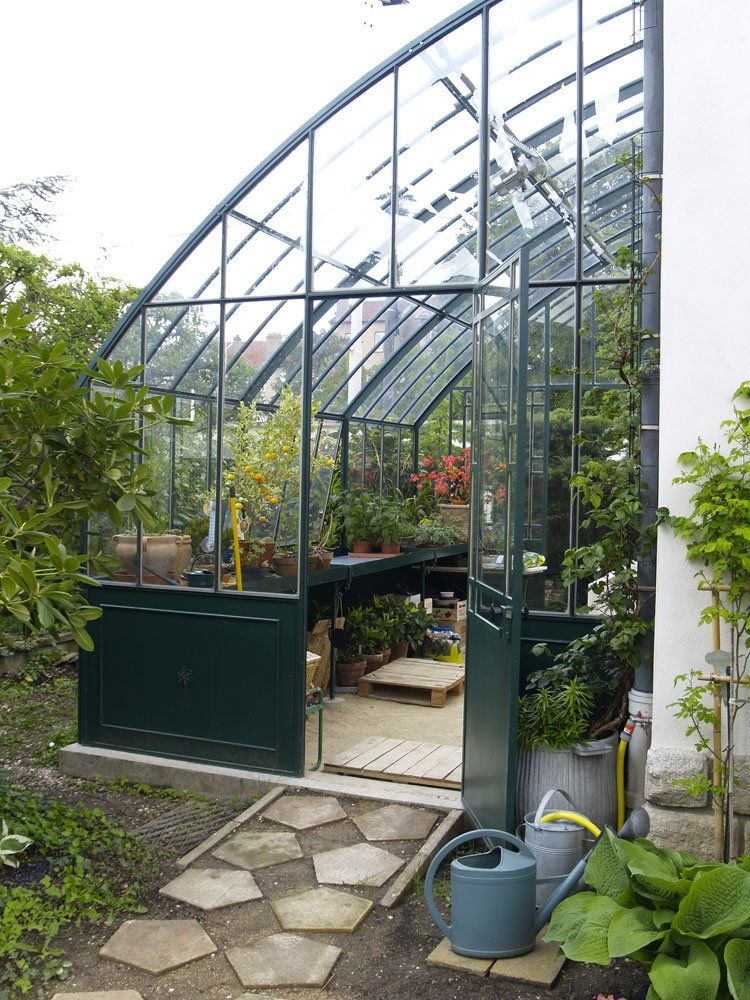 pin by heather atherton on greenhouse conservatory garden shed studio. Black Bedroom Furniture Sets. Home Design Ideas
