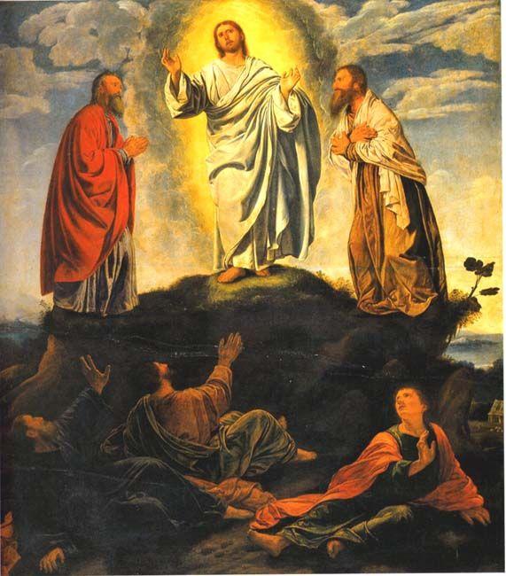 Transfiguración de Cristo en el Monte Tabor.