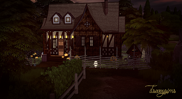The Sims 4 House Cottage