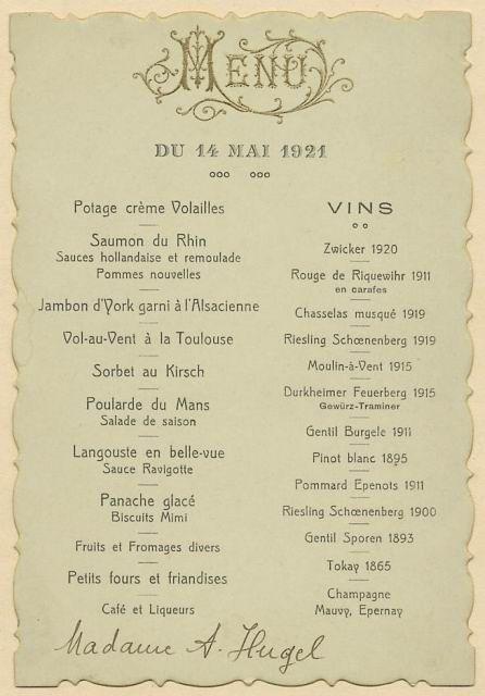 French Friday On Saturday Again  Vintage Menu Menu And Vintage