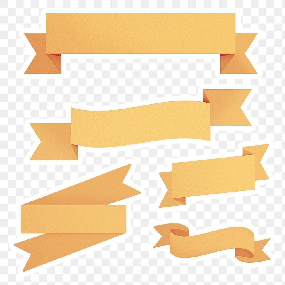 Marigold Yellow Ribbon Banner Design Element Free Image By Rawpixel Com Sasi Banner Design Ribbon Banner Yellow Ribbon