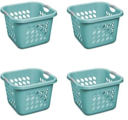 Home Laundry Basket Teal Laundry Rooms Washing Clothes