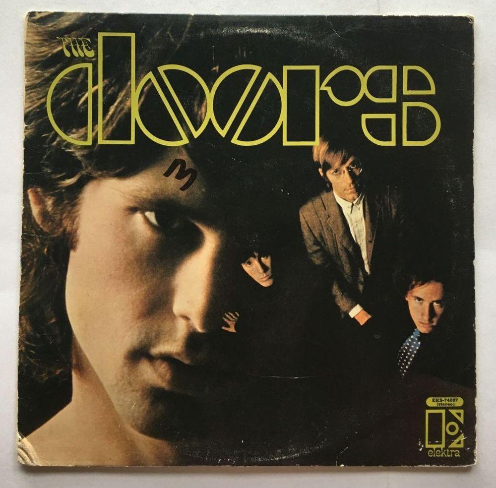 THE DOORS [LP] THE DOORS SELF TITLE (VINYL 1967 ELEKTRA) EKS- & The doors [lp] the doors self title (vinyl 1967 elektra) eks-74007 | Lp