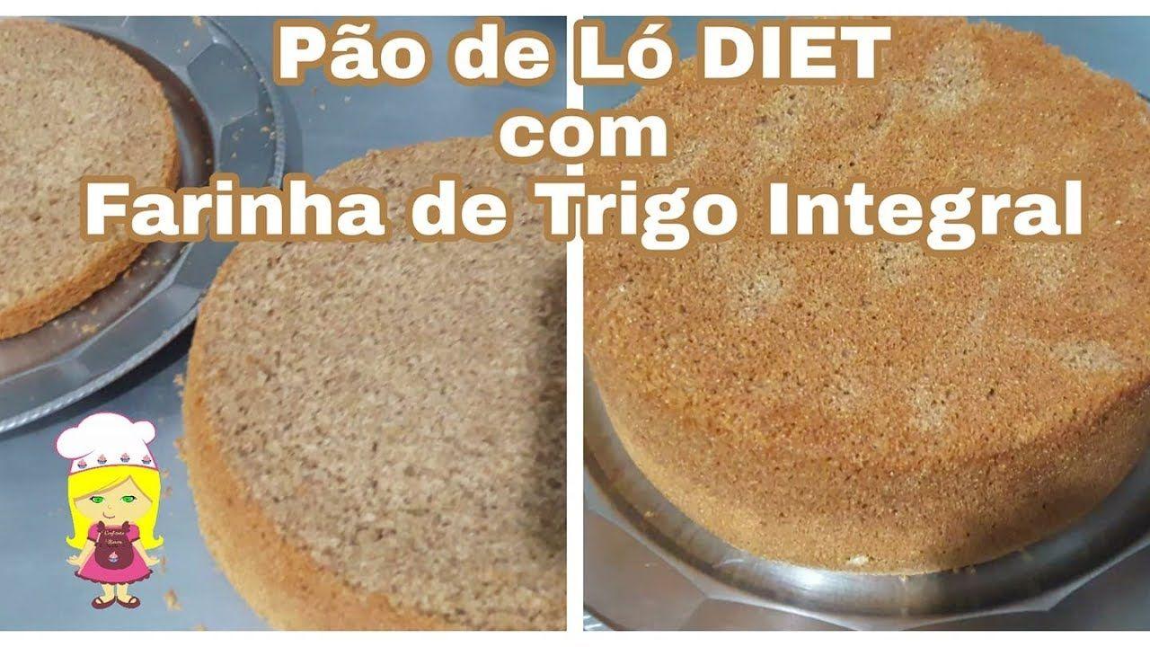 Paƒo De La Zero Aa Ascar Com Farinha De Trigo Integral Bolo