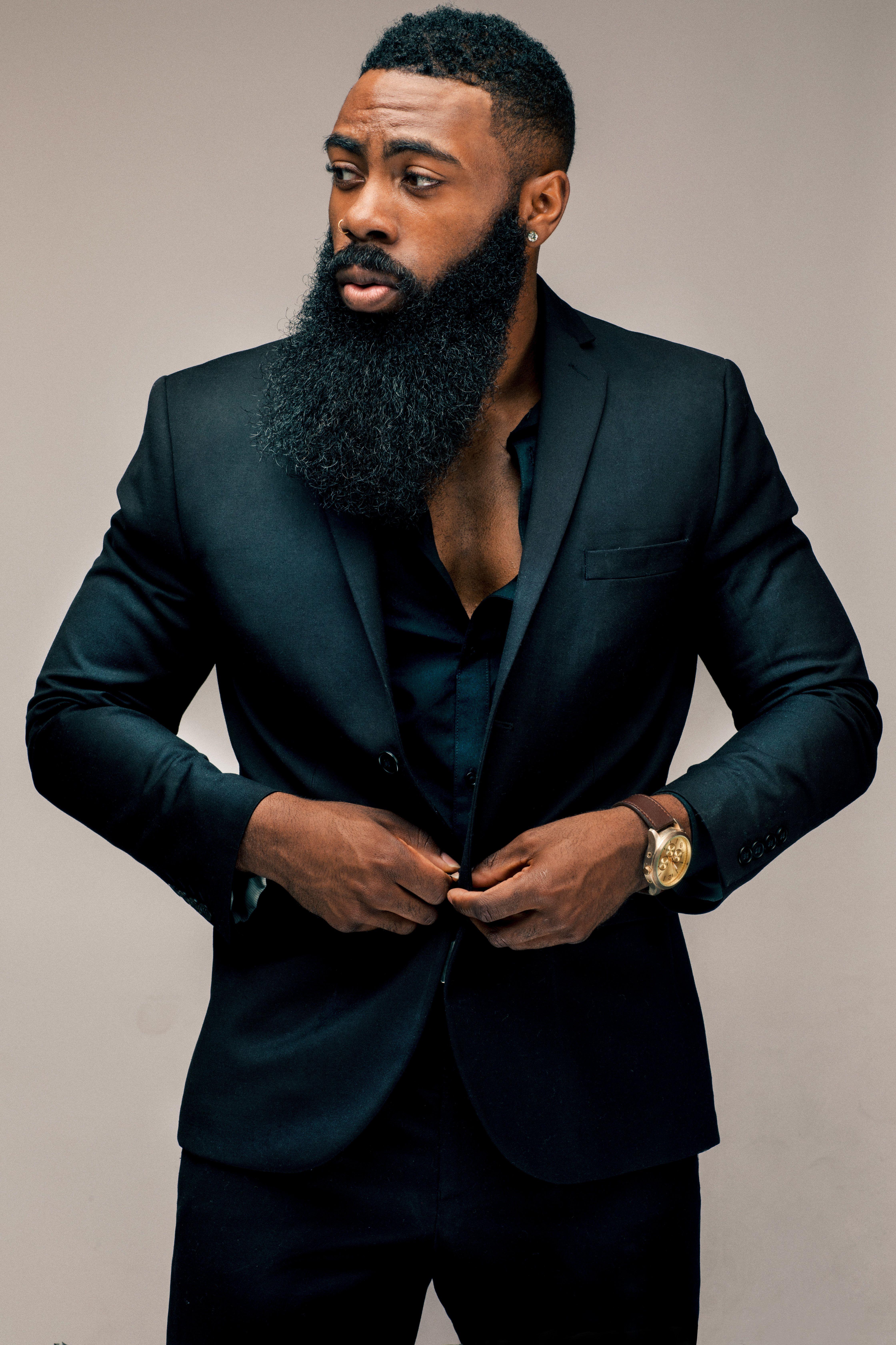 Mcm Omar Parkman In 2019  Sexy Men  Black Men Beards -3292