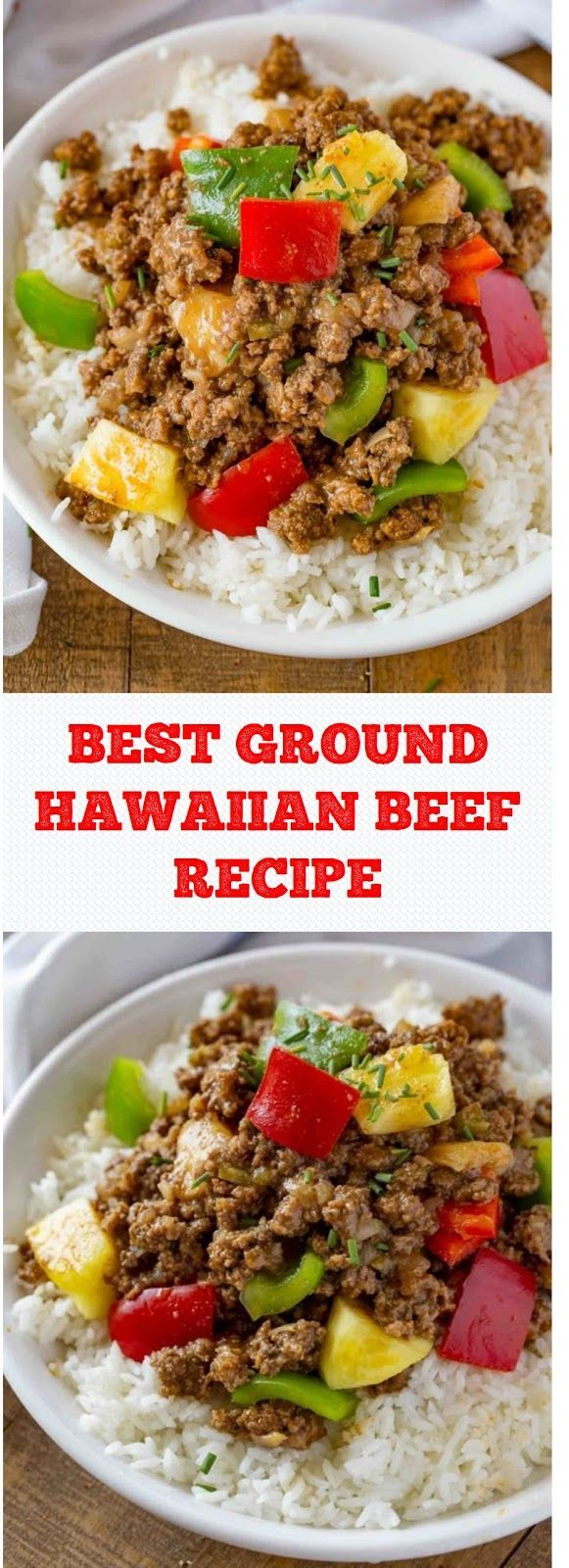 Best Ground Hawaiian Beef Recipe Beef Recipes Ground Beef Paleo Recipes Beef Casserole Recipes