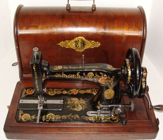 Portable SINGER Sewing Machine With Hood Via This Board Is BLANK Beauteous Vintage Singer Portable Sewing Machine