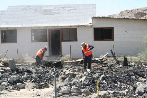 Trona Cares begins cleanup thanks to SB County allotment.