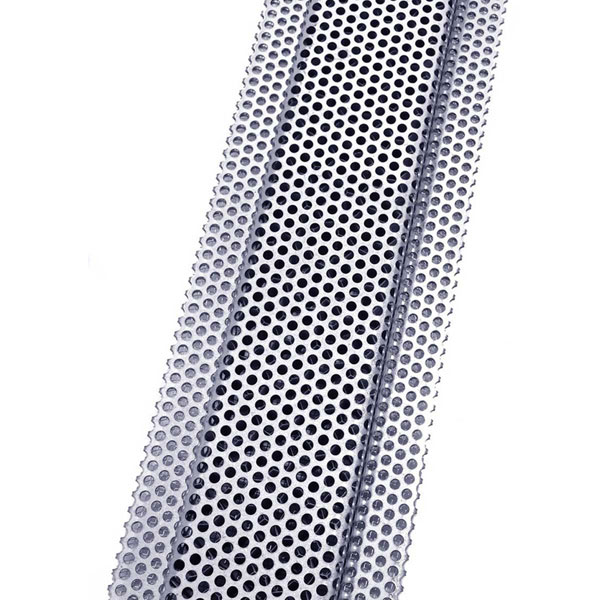 3 Inch W X 120 Inch L 144 Sq In Venting Area Vulcan Fire Stopping Continuous Soffit Vent Single Leg Perforated Galvanized Steel House On The Rock Vented Mountain Modern