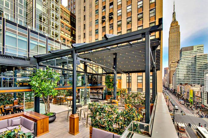 For Sports and Other Times of Drink Best rooftop bars