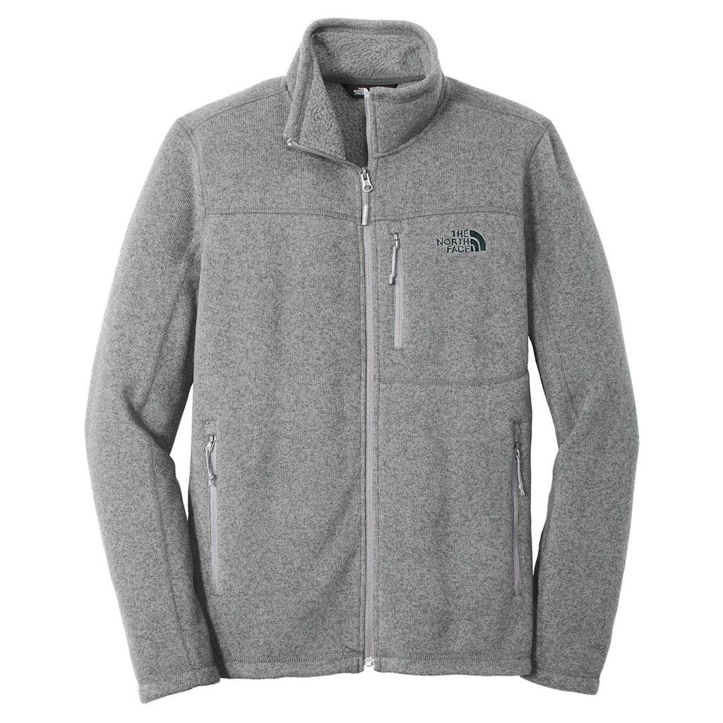 The North Face Men S Medium Grey Heather Sweater Fleece Jacket North Face Jacket Mens North Face Outfits North Face Mens [ 1024 x 1024 Pixel ]