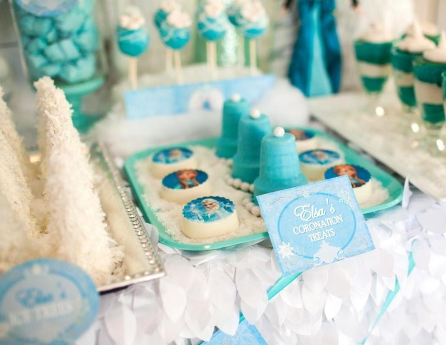 Frozen Party Food Labels Frozen Birthday Party Elsa