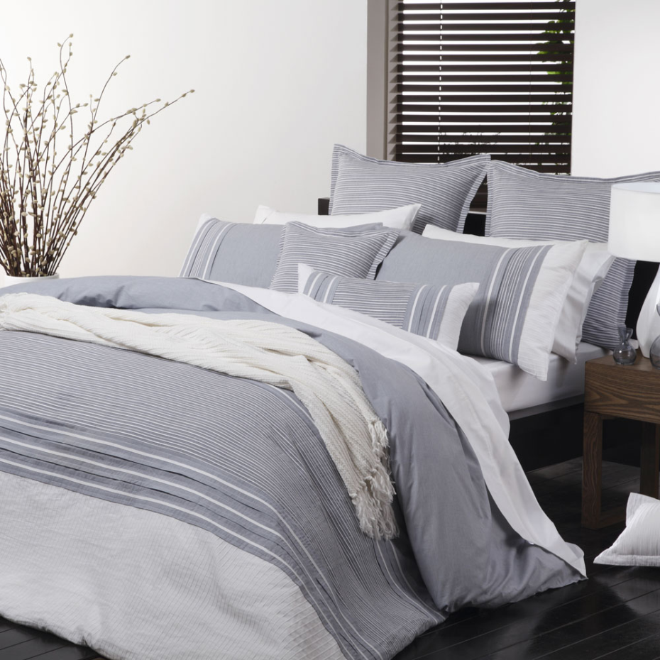 Sorrento Blue Bed Linen by Platinum Collection Blue