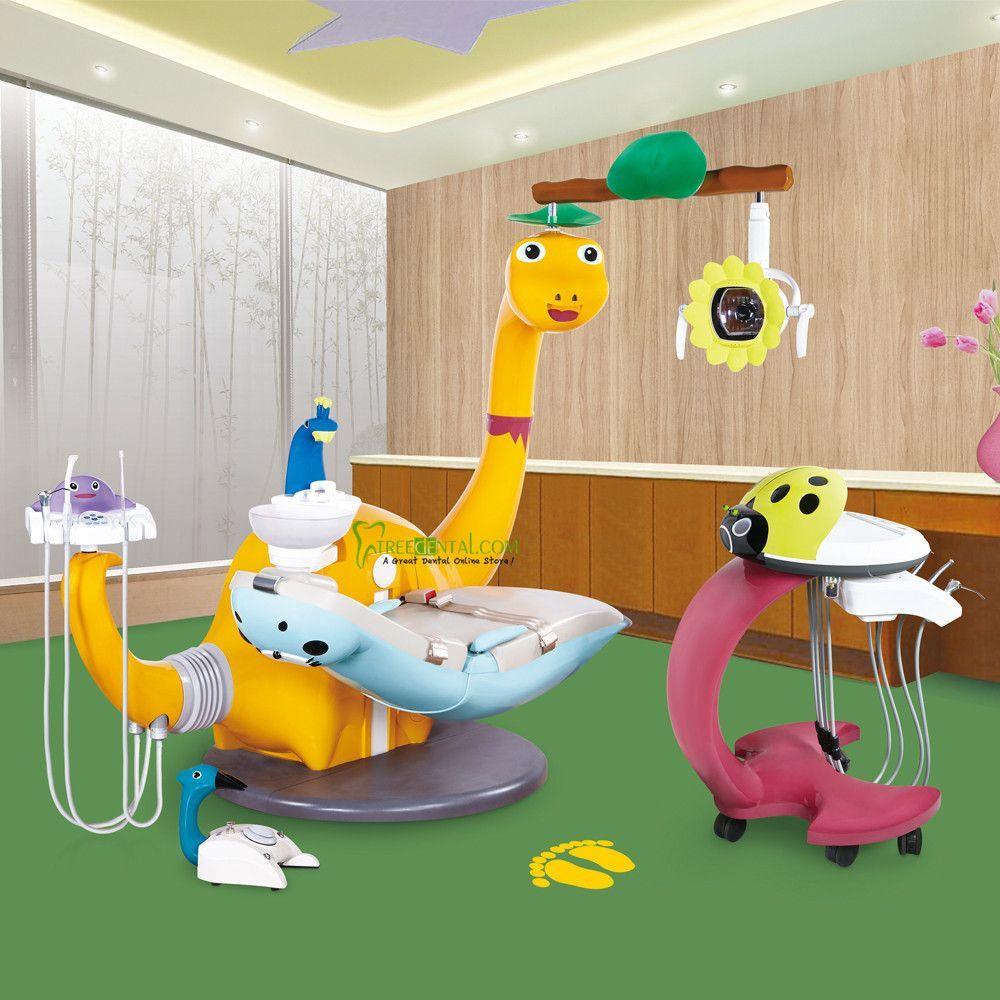 CE Approved,Lovely Dinosaur Children Dental Chair/Unit