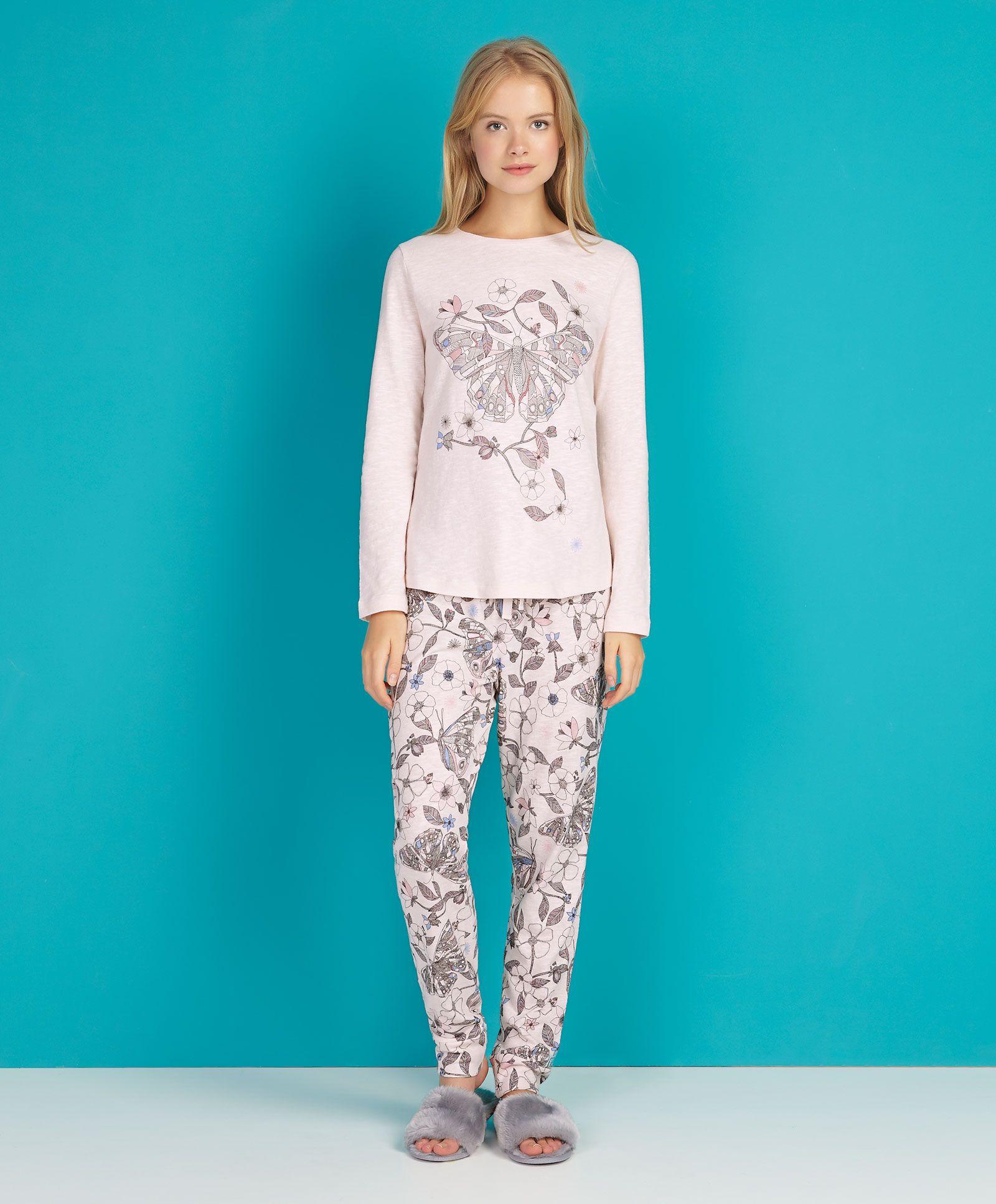 Camiseta posicional mariposa - OYSHO