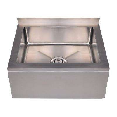 Whitehaus Collectionu0027s Wall Mount Stainless Steel Sink Is Scratch, Stain  And Chip Resistant, As Well As Resistant To Thermal Shock.