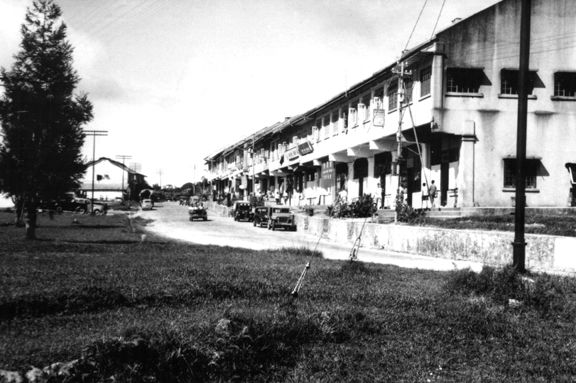 Title - Cameron Highlands 5 / Year - 1965's / Location - Cameron Highlands, Pahang / Description - Another view of Tanah Rata town in 1950s