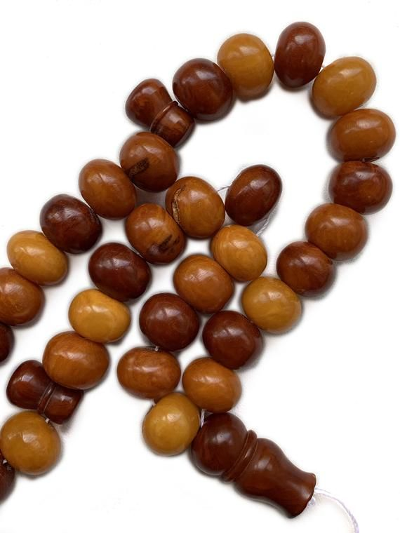 Antique rosary from Baltic amber.Old rosary.Muslim rosary,Amber beads,Baltic Amber Rosarys•Muslim Prayer Beads• Amber gift. Rosary jewelry #rosaryjewelry