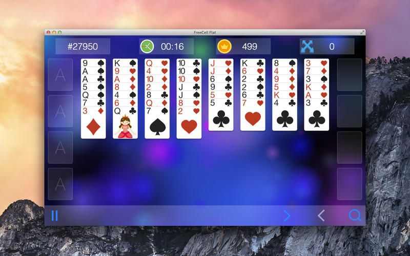 FreeCell Flat Games 914305242 Mac App Card 4