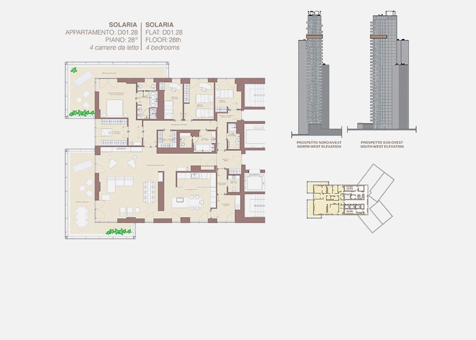 Residenze residenze porta nuova torre solaria - Residenze di porta nuova ...