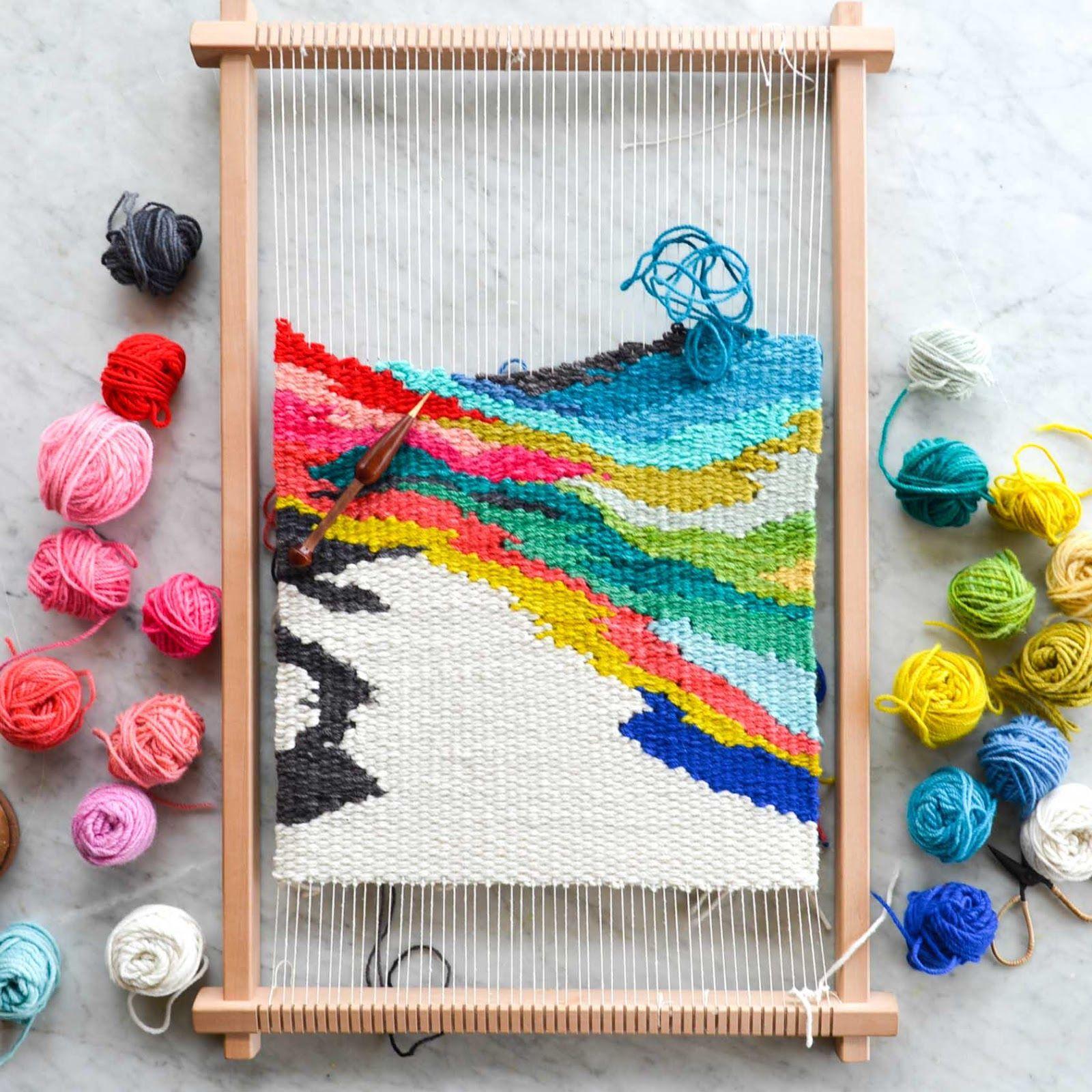 """tapestry Weaving Unique Art Form. Loom"