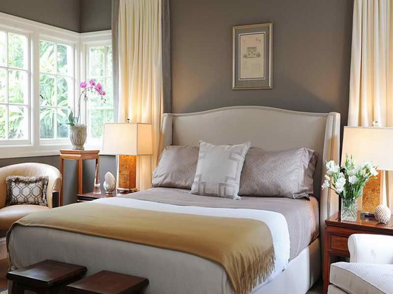 Small Master Bedroom Decorating Ideas Make Room Larger With King