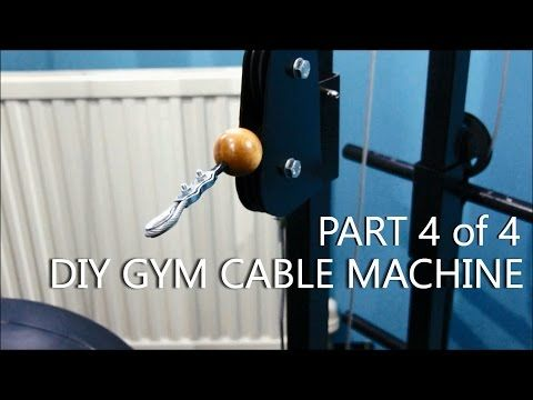 c160838059a DIY Gym Cable Machine - Full Build Log - Part 1of4 - YouTube