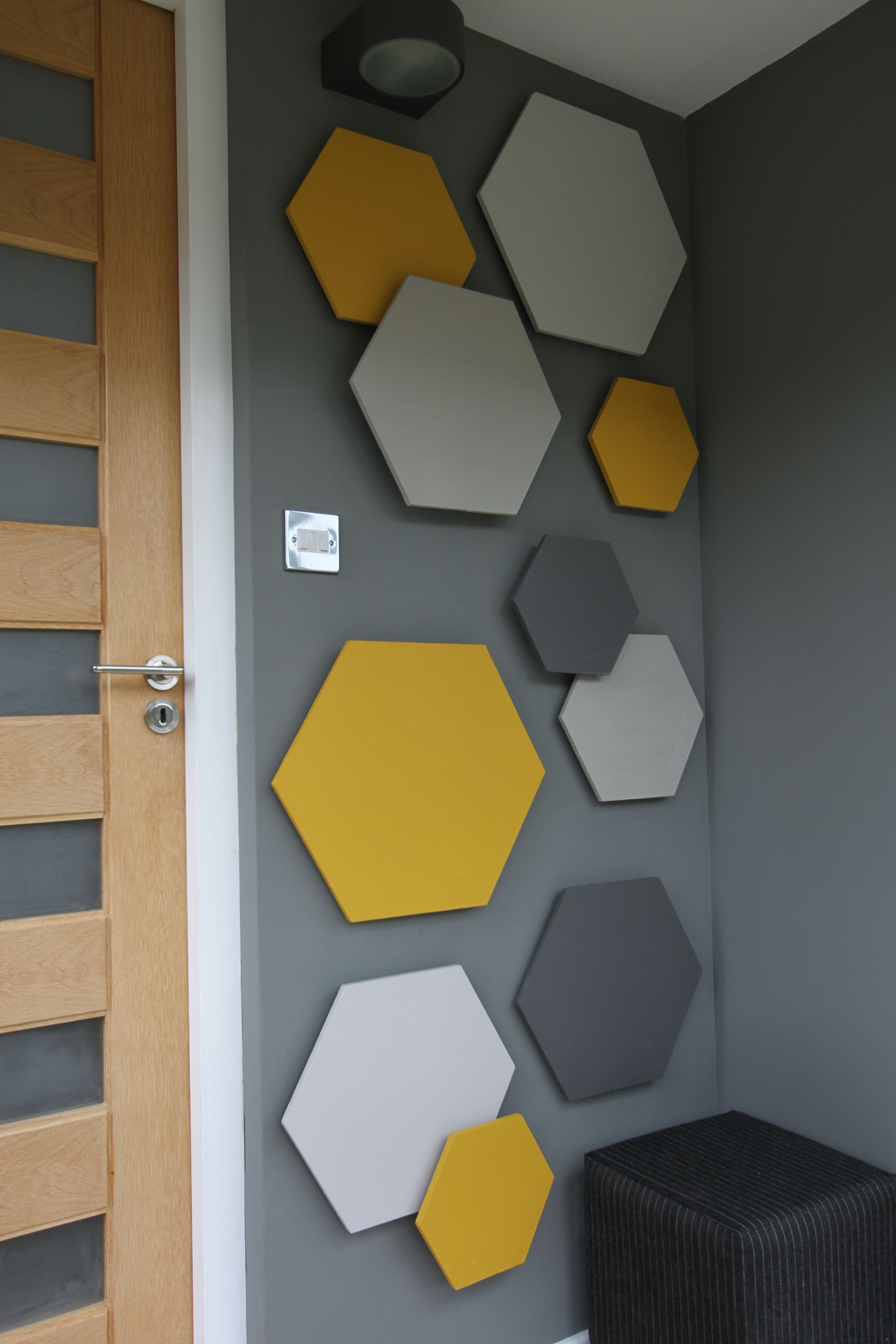 Hexagons Wall Art Decoración De