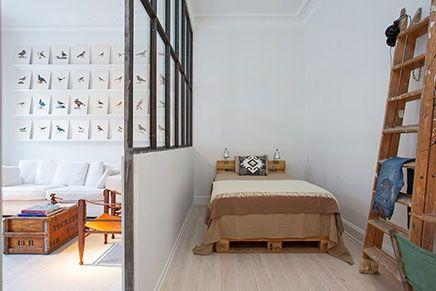 Perfecte verkoopstyling 1-kamer appartement | Bedroom apartment ...