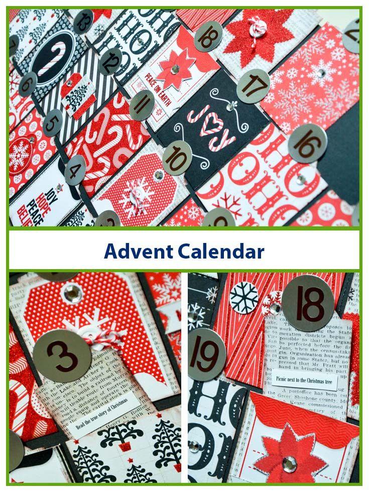 designer grace is on our blog with a diy advent calendar. Black Bedroom Furniture Sets. Home Design Ideas