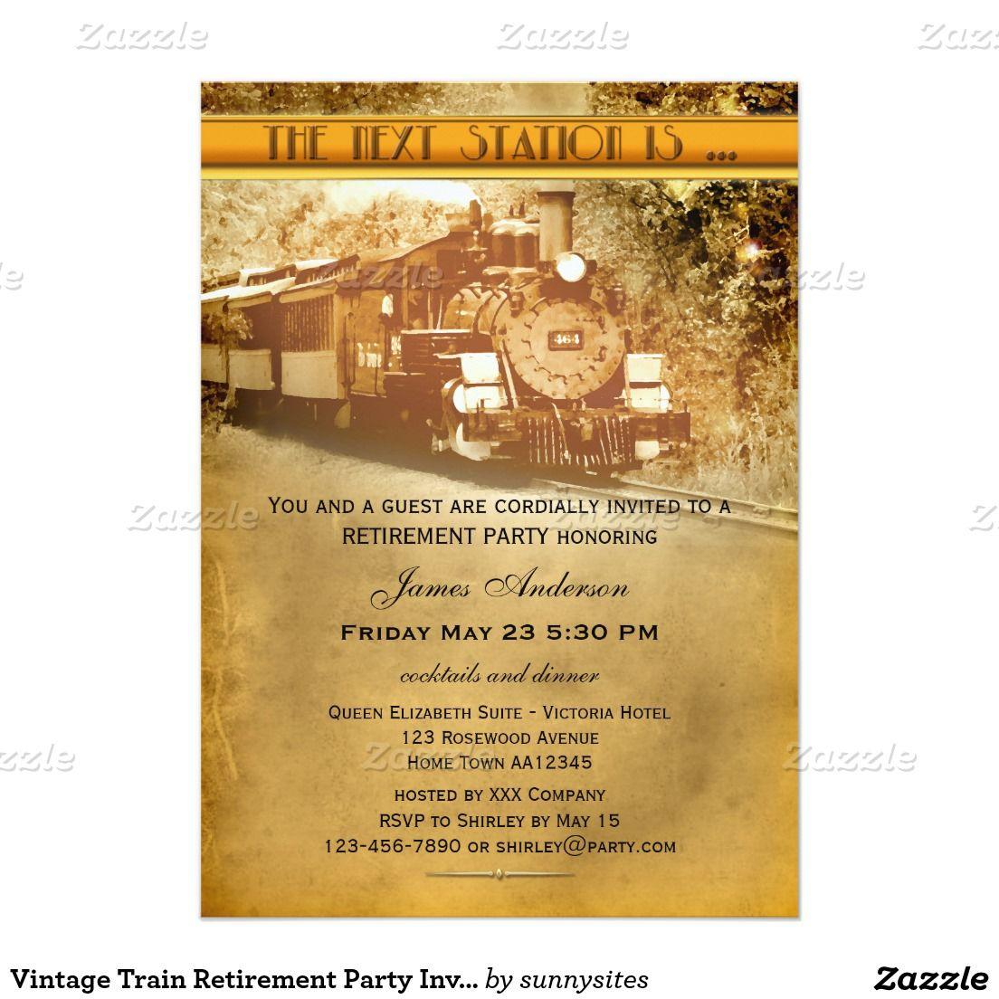 Retirement Party Invitation Card Togo Wpart Co