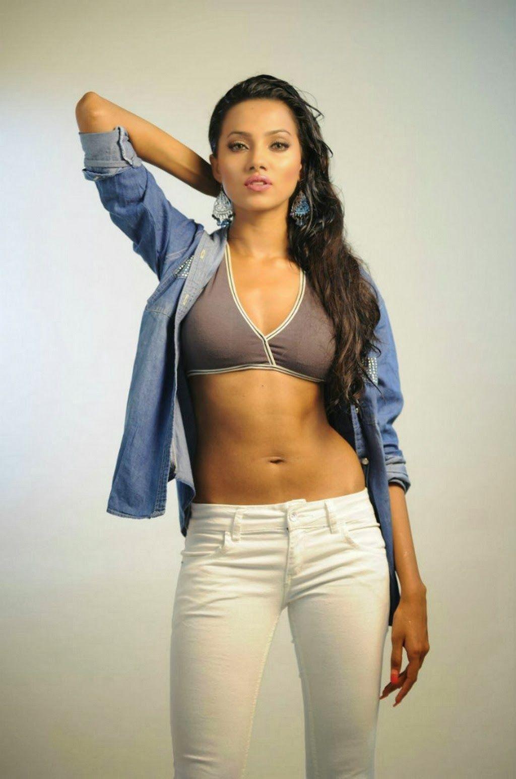 Anjali Gupta New Hot Photo Shoot  Indian Actress Navel -5668
